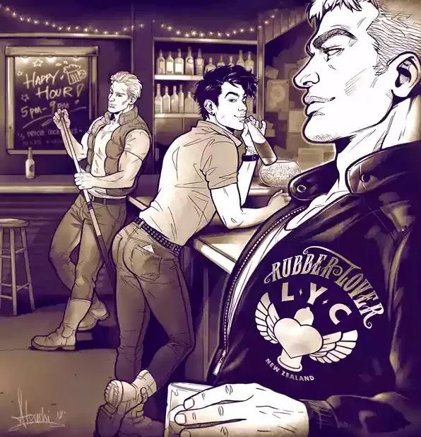 gay bar by atsushi