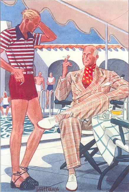 poolside posh short shorts l fellows (25)