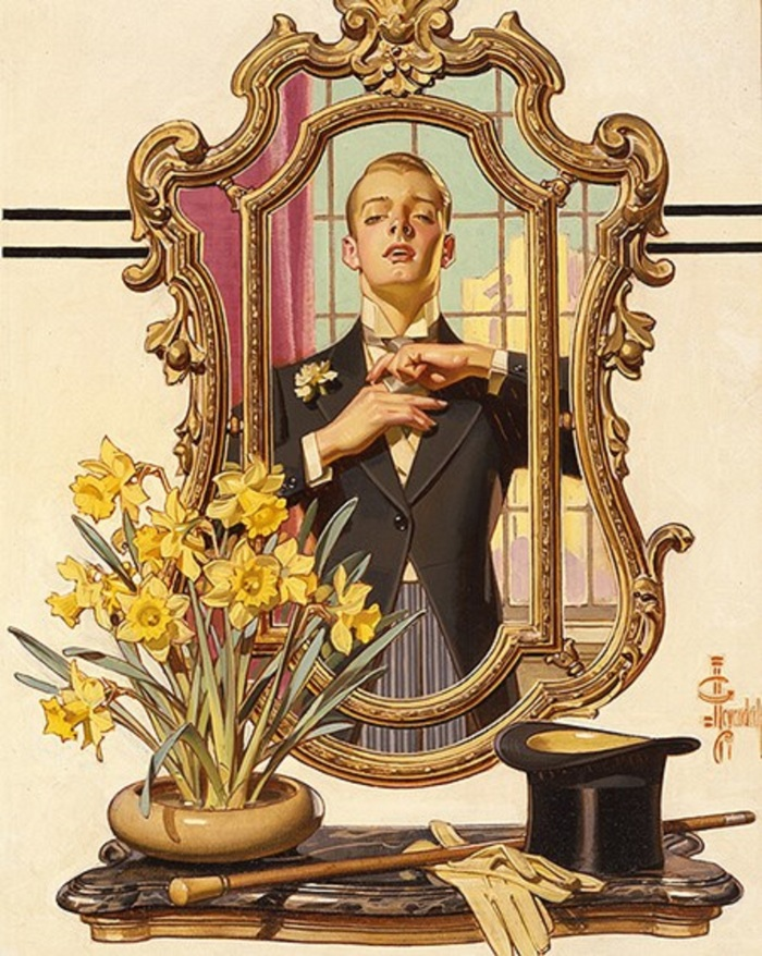 z used dinner jacket mirror posh by Leyendecker (1)