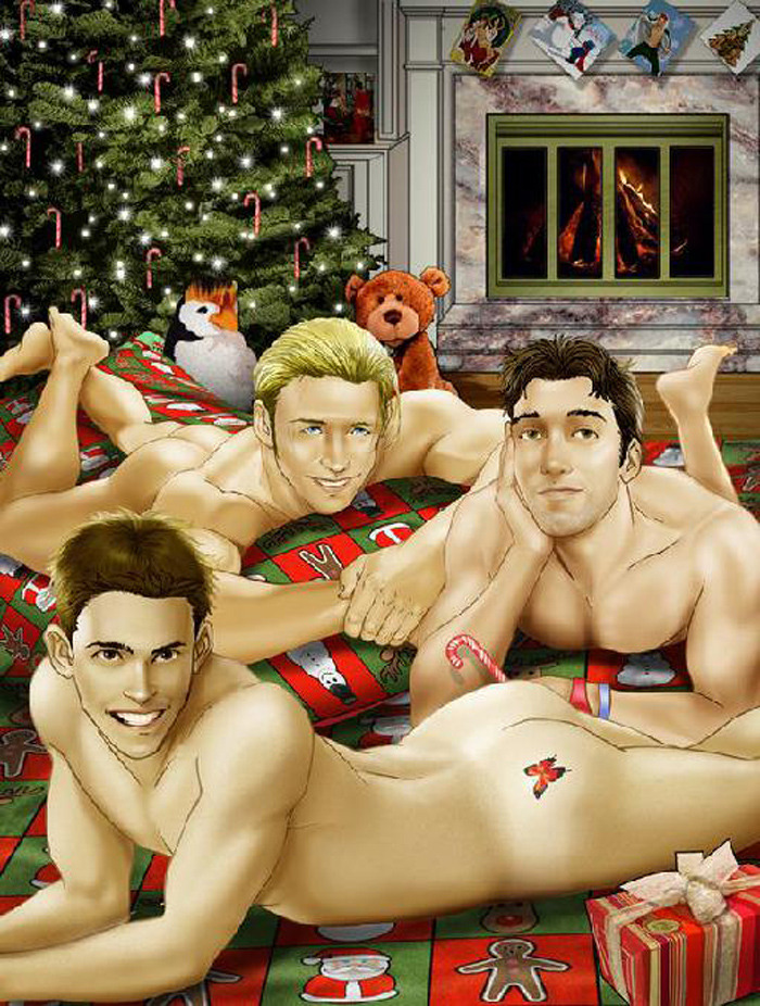 z used christmas naked threesome tree joe phillips query (1)